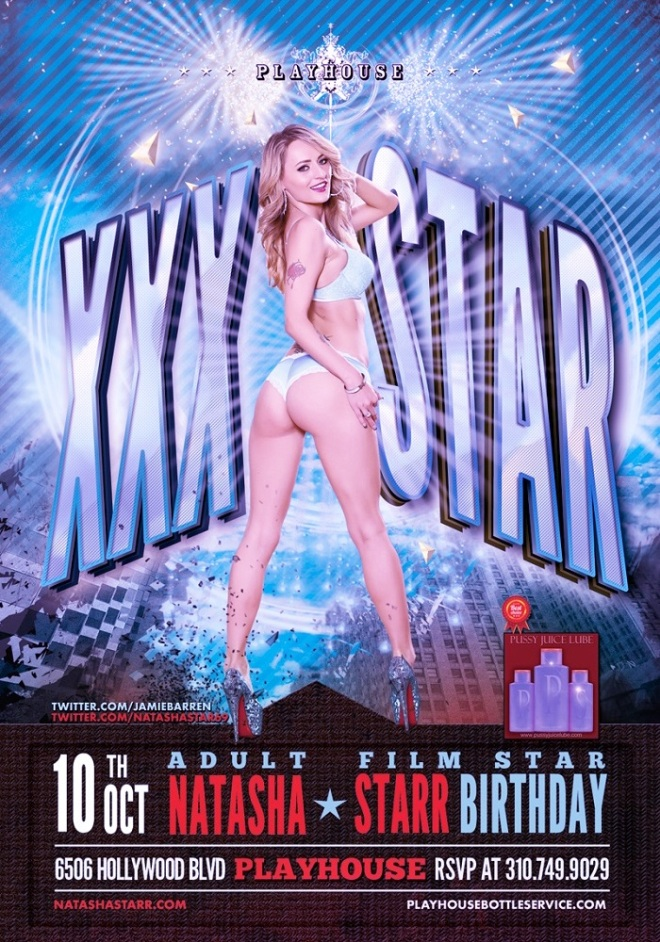"""Adult Star Natasha Starr Birthday Playhouse"""