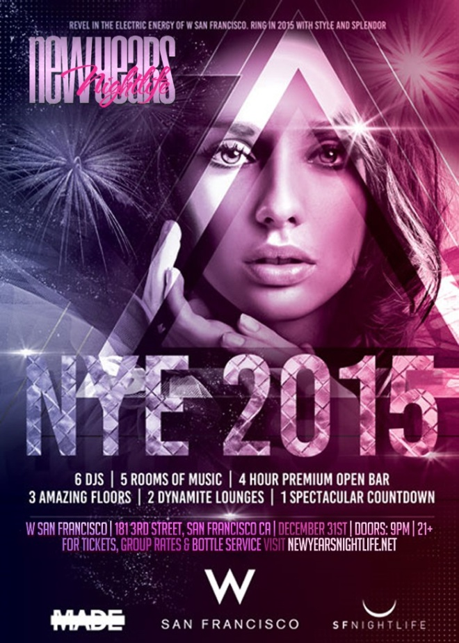 """W San Francisco New Years 2015"""