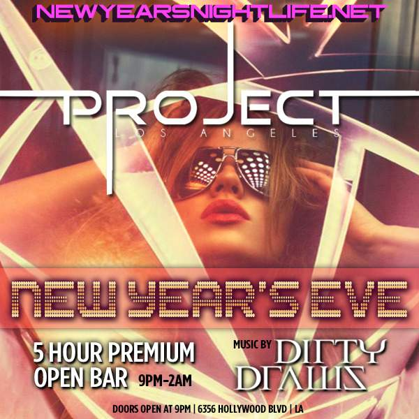 Project Los Angeles New Years Eve 2015
