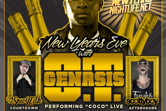 Genasis Performs NYE 2015 Playhouse
