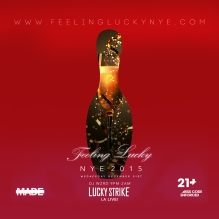 Lucky Strike LA Live 2015 New Years