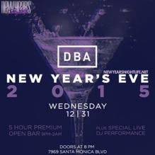 """DBA Hollywood New Years"""