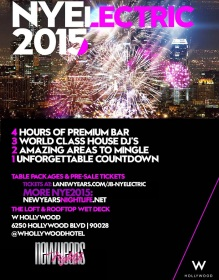 NYElectric W Hollywood New Years 2015