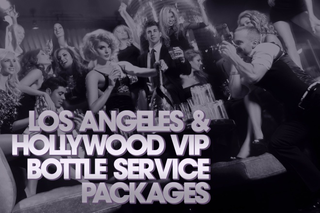 Bottle Service LA Party Bus Night Club