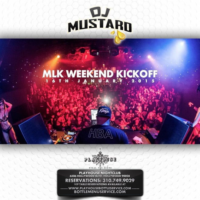 Playhouse Hollywood MLK Weekend 2015