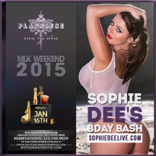 Sophie Dee Bday 2015 Playhouse Hollywood