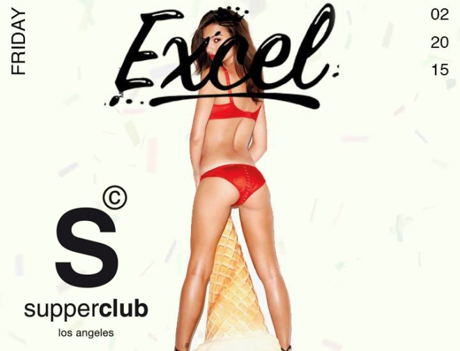 Supperclub Hollywood Friday DJ Excel