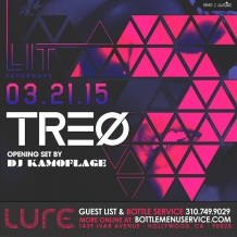 Lure Nightclub LIT Saturdays DJ TREO