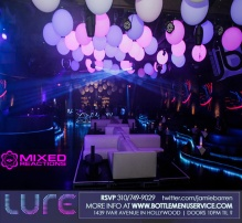 Lure Hollywood Saturdays 4th April 2015