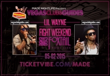 Fight Weekend 2015 Lil Wayne Performs