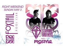 Stafford Brothers Perform Fight Weekend 2015