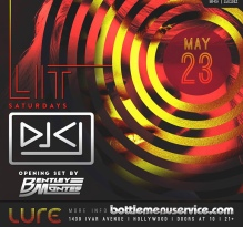 Lure Hollywood Saturday May 23rd
