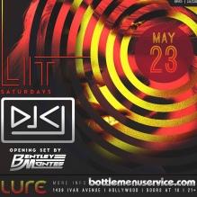 Lure Hollywood Saturday May 23rd