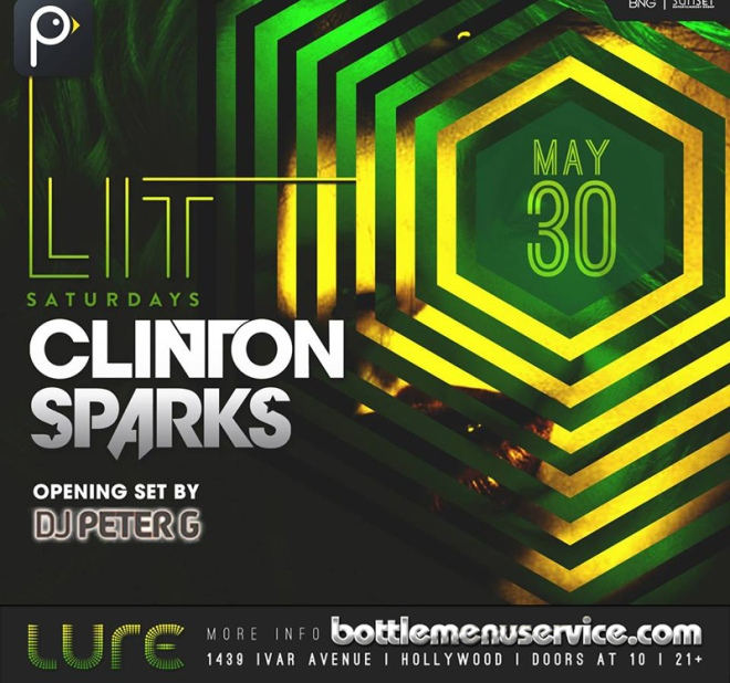 Lure Nightclub LIT Saturdays May 30