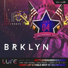 Lure Hollywood July 4th Weekend Saturday