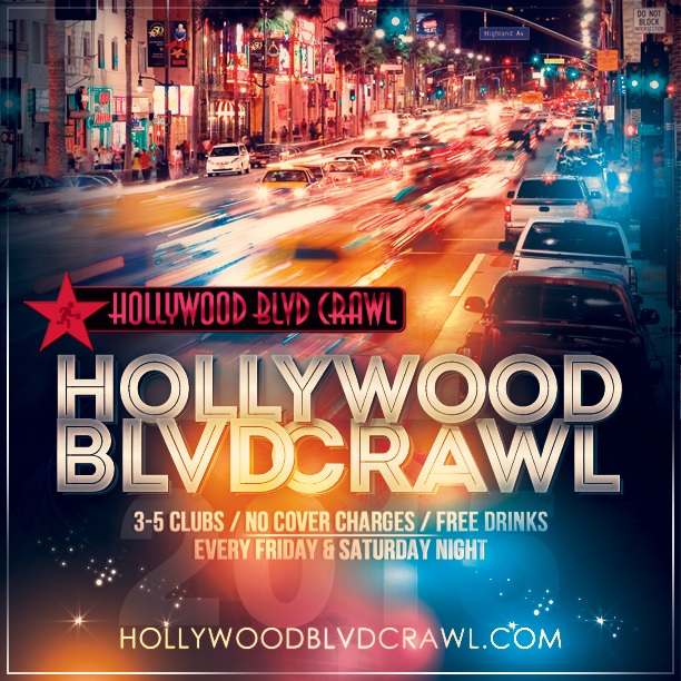 Saturday LA Club Crawl August 1st