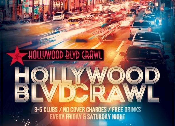 Saturday LA Club Crawl August 1st
