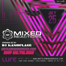 Lure Hollywood Saturdays 2015 July 25th