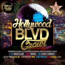 Saturday LA Club Crawl July 25