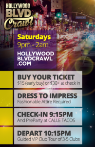 Saturday LA Club Crawl Itinerary