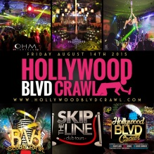 LA Club Crawl Friday August 14