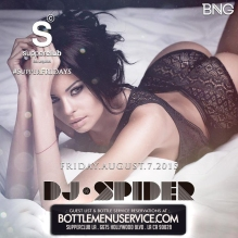 Supperclub Friday August 7