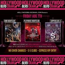 VIP LA Club Tour Friday August 7