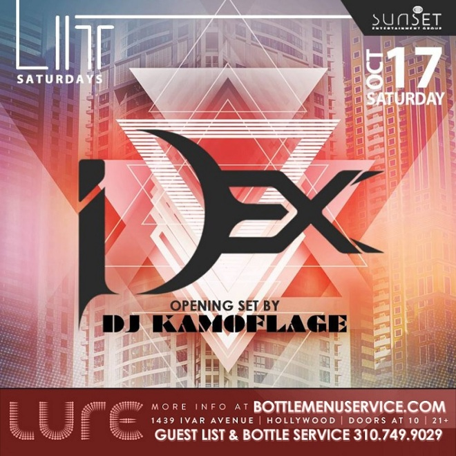 Lure Nightclub Saturday October 17