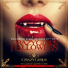 Halloween Crazy Girls Hollywood 2015