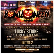 Lucky Strike Halloween Downtown LA