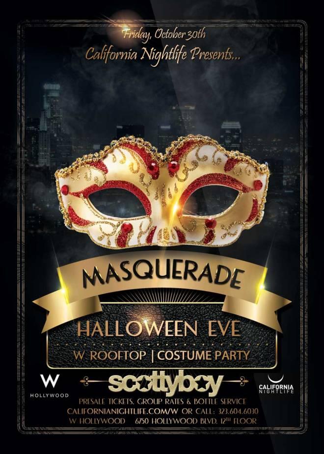 W Masquerade Halloween 2015