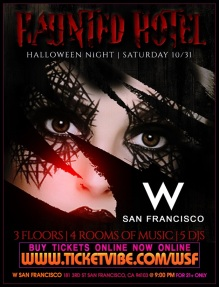 W San Francisco Halloween October 31