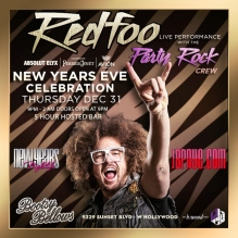 Bootsy Bellows 2016 Redfoo Party Rock NYE