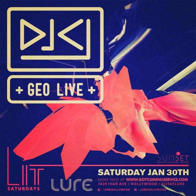 Lure Nightclub Saturday January 30th