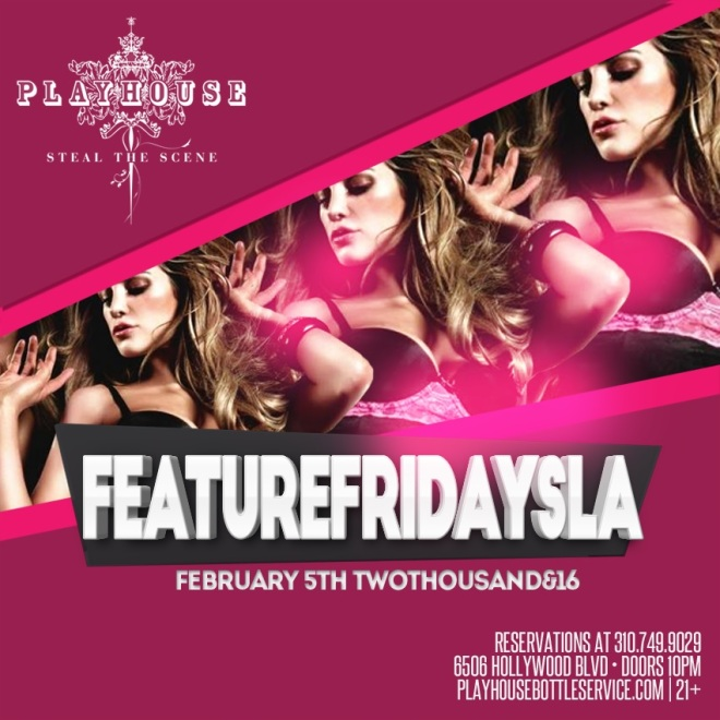Playhouse Hollywood 2016 February 5