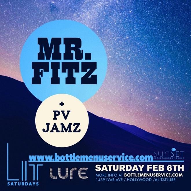 Lure Nightclub Saturday 2016 Feb 6