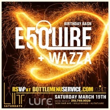Lure Hollywood Saturdays 2016 March 19