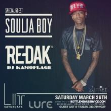 Lure Nightclub Saturday March 26