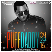 Diddy Hosts Playhouse Nightclub Feature Fridays LA