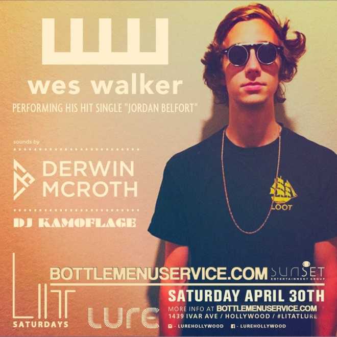 Lure Hollywood LIT Saturdays April 30