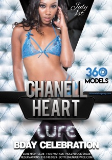 360 Models Adult Star Chanell Heart Bday Lure Nightclub