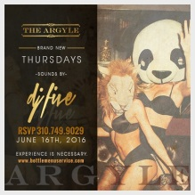 Argyle Nightclub Thursday June 16