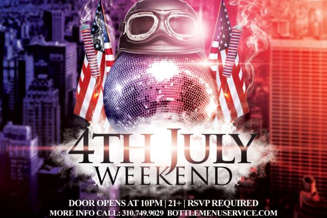 Lure Nightclub July 4th Weekend Saturday 2016
