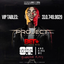Project Club LA 2016 BET Weekend Party