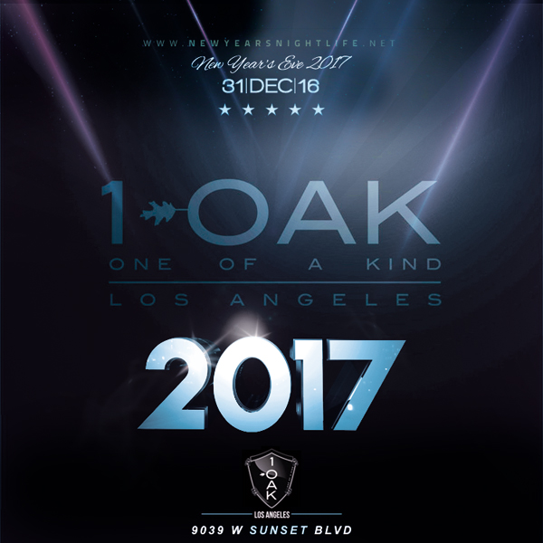 1 OAK LA New Years