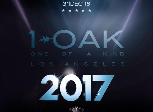 1 OAK LA New Years