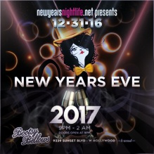 Bootsy Bellows 2017 New Years