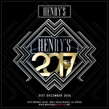 Henrys LA New Years
