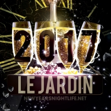 Le Jardin LA New Years 2017
