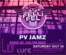 Lure Nightclub Saturday 2016 July 30th